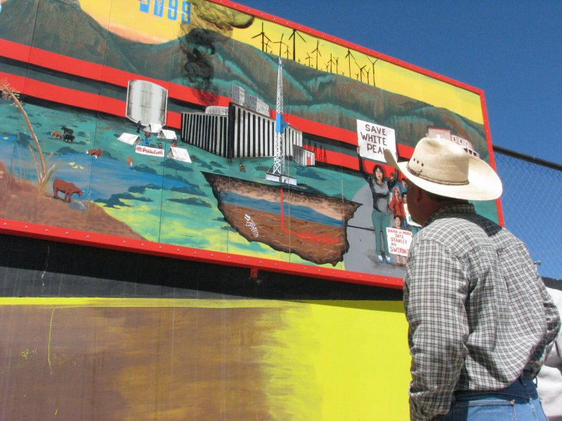 Rooted lands tierras arraigadas the mural for El mural trailer